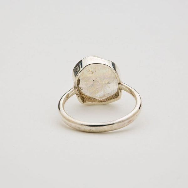 moonstone ring back view