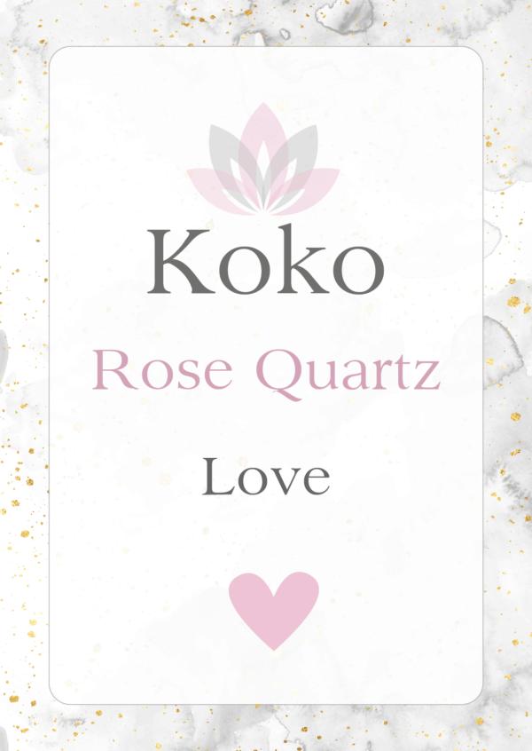 rose quartz Gemstone meaning love
