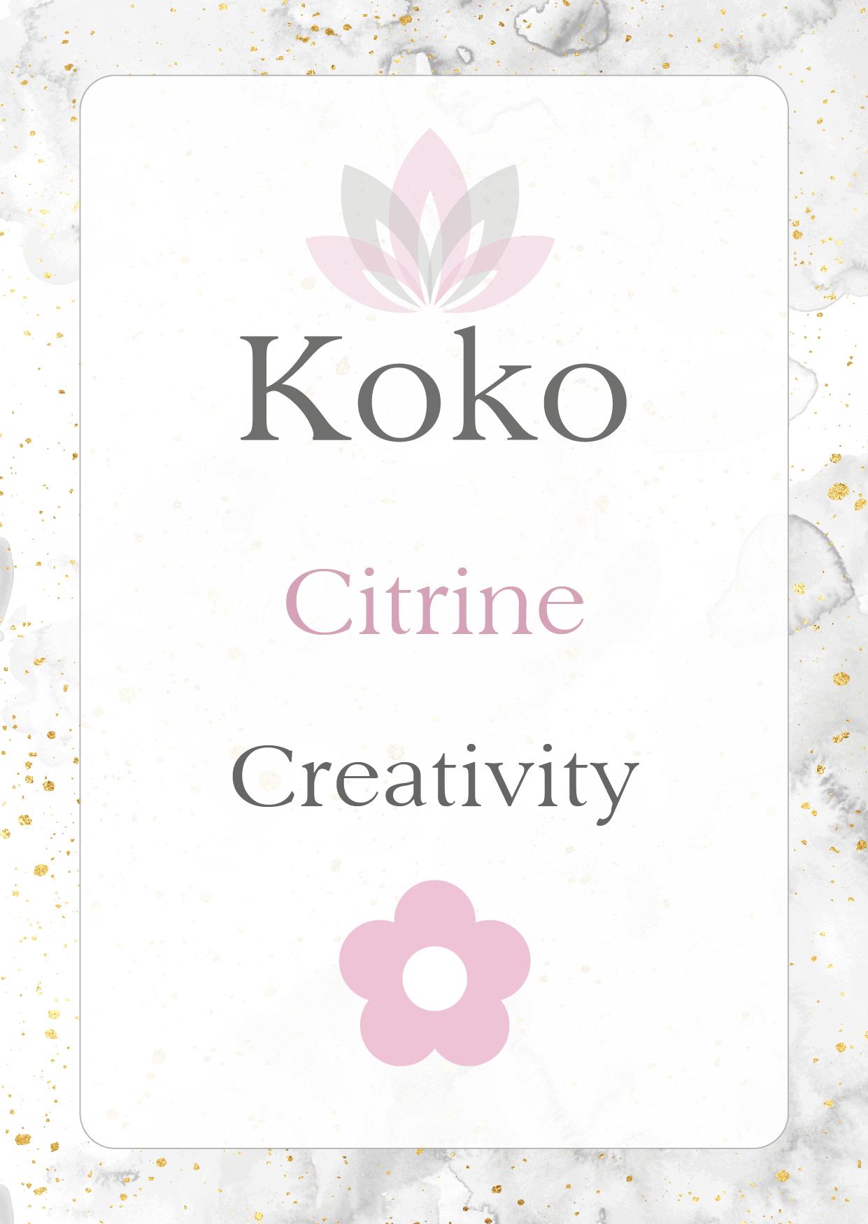 citrine Gemstone meaning creativity