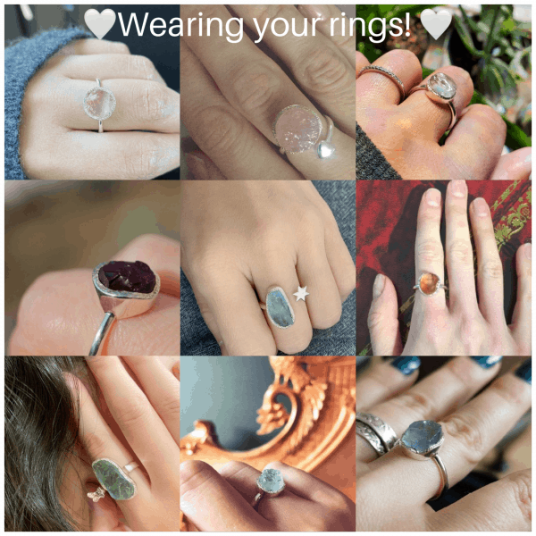 wearing your rings